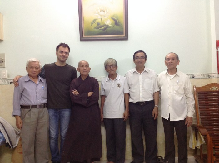 Meeting my heroes in Saigon. All alumni from the first iteration of the SYSS, 1965-1967